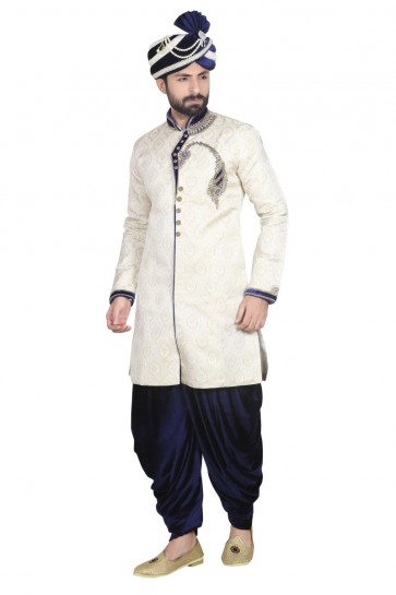 or clair brocked usure ethnique concepteur sherwani ready-made