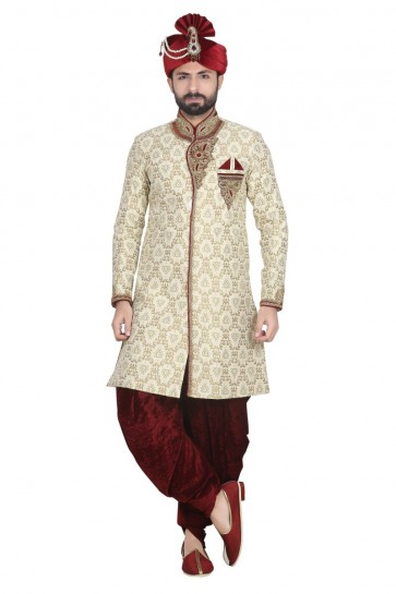 or brocked usure ethnique concepteur sherwani ready-made